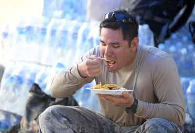 snel eten rommelende darmen