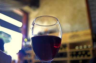 glas wijn resveratrol
