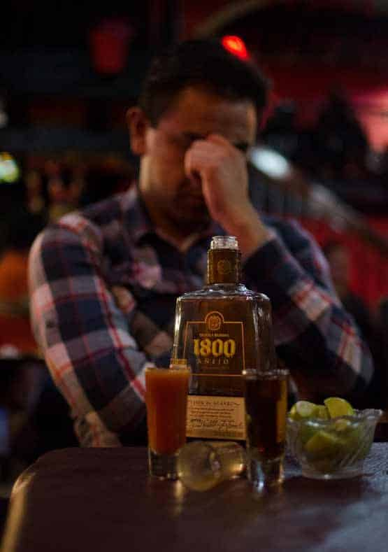 alcohol drinken dopamine tekort